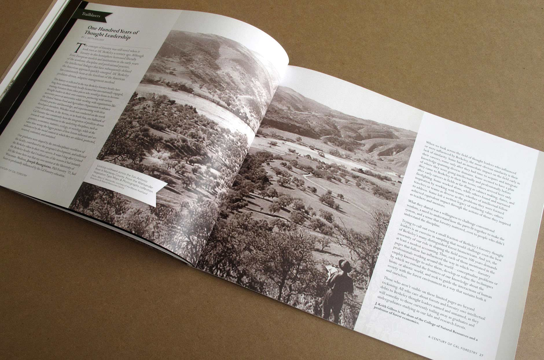 UC Berkeley School of Forestry: Centennial Book